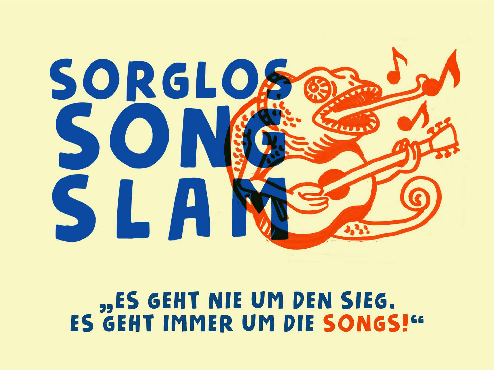 Sorglos Song Slam - Singer/Songwriter Contest